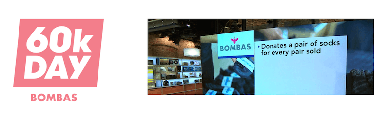 Bombas Brings Its Mission to CBS This Morning