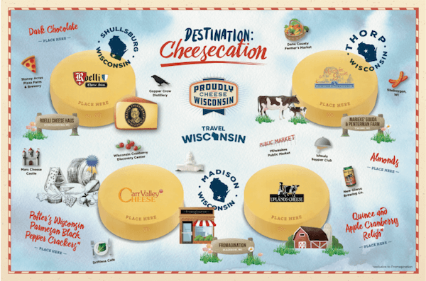 Travel Wisconsin Cheesecation