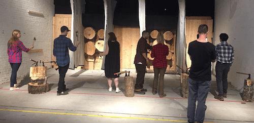 TURNER Brings Duluth Trading Co  and Axe Throwing to NYC