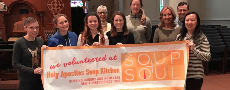Volunteering At Holy Apostles Soup Kitchen Turner
